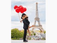 Романтика, любовь Романтика с шариками