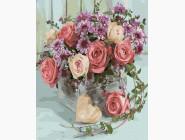 Цветы, натюрморты, букеты Букет из роз