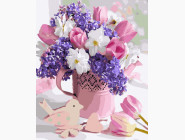 Цветы, натюрморты, букеты нежный  аромат