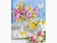 Цветы, натюрморты, букеты Нежный натюрморт