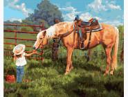 Ангелы и дети Любимая лошадка