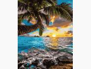 Море, морской пейзаж, корабли Закат на Гавайях
