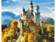 Городской пейзаж Замок под солнцем