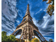 Городской пейзаж Эйфелева башня