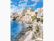 Море, морской пейзаж, корабли Красивая Греция