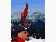 Пейзаж и природа Вино и горы