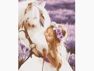 Ангелы и дети Девочка и лошадь