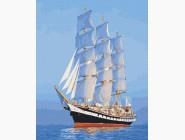 Море, морской пейзаж, корабли Парусник
