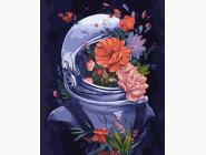 Цветы, натюрморты, букеты Космические цветы