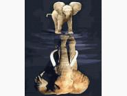 Животные и рыбки Дух слона