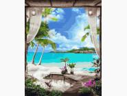 Море, морской пейзаж, корабли Райский вид