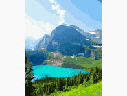 Пейзаж и природа Альпийское озеро