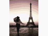 Портреты, люди на картинах по номерам Прогулка по Парижу