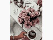 Картины по номерам для кухни Ароматный кофе