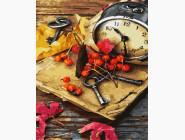 Цветы, натюрморты, букеты Осенний натюрморт
