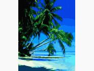 Море, морской пейзаж, корабли Тропический пляж