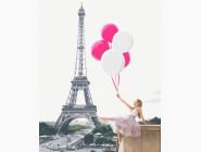 Портреты, люди на картинах по номерам Мечты о Париже