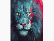 Животные и рыбки Гордый лев