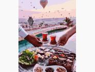 Романтика, любовь Чаепитие в Каппадокии