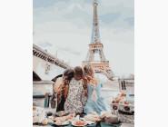 Портреты, люди на картинах по номерам Подруги в Париже