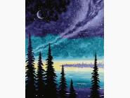 Пейзаж и природа Полярная ночь