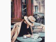 Портреты, люди на картинах по номерам Дело в шляпе