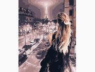 Портреты, люди на картинах по номерам Ночь в Париже