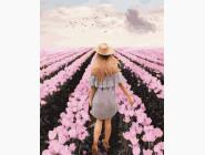 картина по номерам Цветущий сад