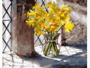 Цветы, натюрморты, букеты Цветочное утро