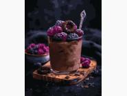 картина по номерам Ягодный десерт