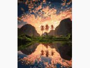 Пейзаж и природа Тропический закат