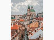 Городской пейзаж Крыши Праги