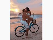 картина по номерам Поцелуй на пляже