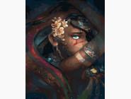 Портреты, люди на картинах по номерам Магия красоты