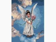 Ангелочек на облаке