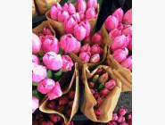 Цветы, натюрморты, букеты Продавец тюльпанов