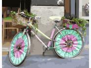 Велосипед цветочницы