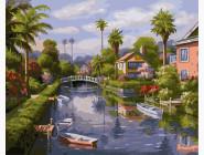 На берегу канала