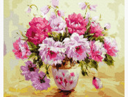 Цветы, натюрморты, букеты Пионы в вазе