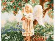 Ангелочек под яблоней