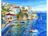 Белые домики Греции