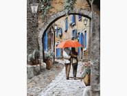 Прогулка под ярким зонтом