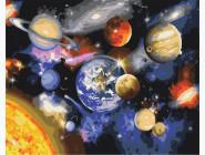 Машины, космос, самолеты: картины без коробки Парад планет