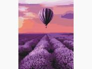 Природа и пейзаж: картины без коробки Воздушный шар в Провансе