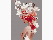 Букеты и натюрморты: картины без коробки Цветочная тиара