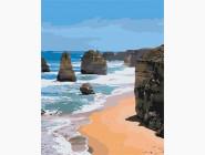 Морской пейзаж: картины без коробки Морские скалы