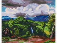 Природа и пейзаж: картины без коробки Долина Пихуамо. Доктор Атл, Херардо Мурильо