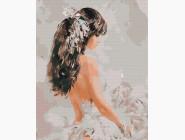 Портреты и знаменитости: раскраски без коробки Девушка с перьями