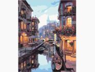 Города мира и Украины: картины без коробки Канал в Венеции