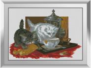 Животные и жители моря Чаепитие (котята)